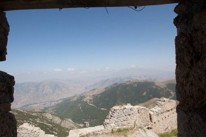 The view from Bābak's Castle