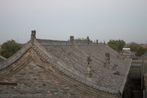An example of new construction that remains true to the old in Pingyao